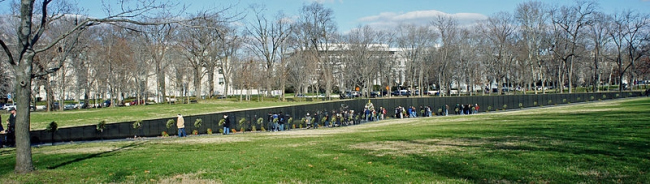 Мемориал ветеранов Вьетнама. Фото: Mariordo (Mario Roverto Durán Ortiz) via Wikimedia Commons. Лицензия CC-BY-SA-3.0