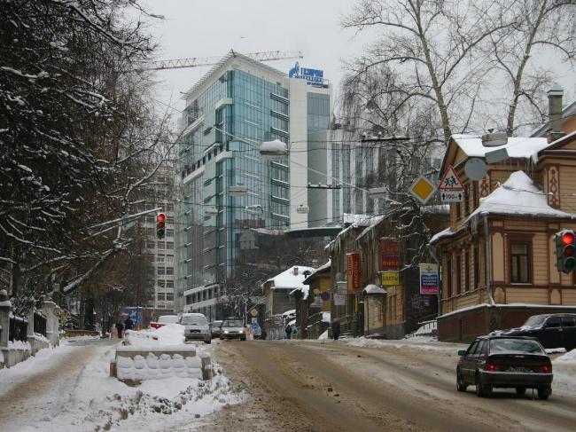 Реконструкция здания «Газпром. Трансгаз» (кодовое название «Полная чаша»). Бюро «Архиграф»