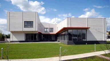 Британский дом в поселке Никольская слобода