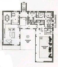 Британский дом в поселке Никольская слобода. План I этажа