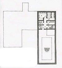 Британский дом в поселке Никольская слобода.План похвального этажа