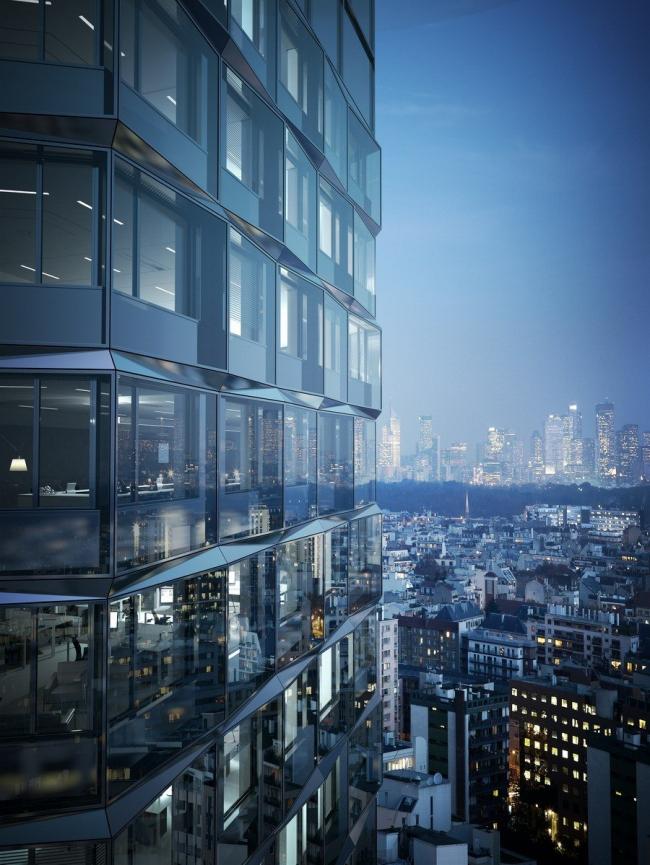 Комплекс CityLights © RSI Studio / Dominique Perrault Architecture / Adagp