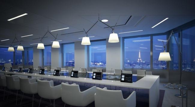Комплекс CityLights © RSI Studio / Dominique Perrault Architecture /Adagp