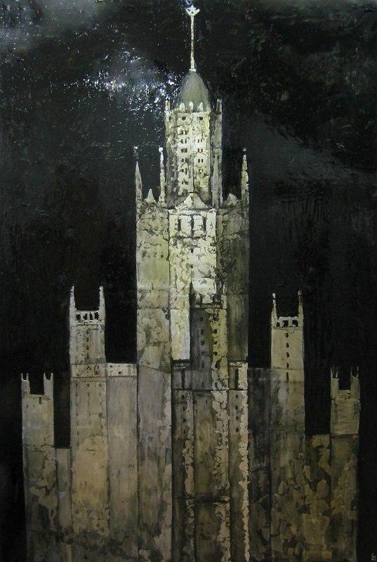 Мария Суворова. Идолы. Башня. 2011, х., м., 250х170