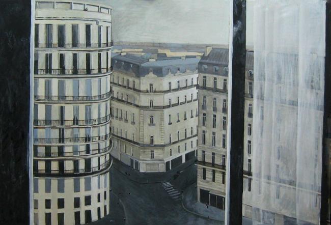 Мария Суворова. Париж. 2011, х., м., 170х250