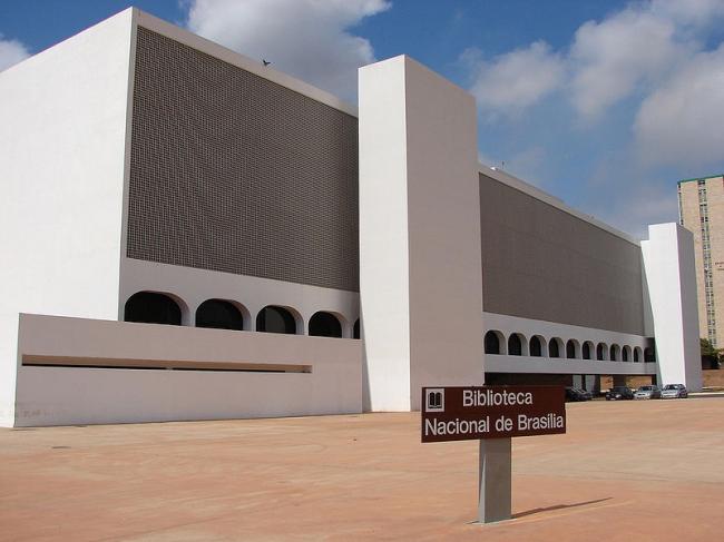 Национальная Библиотека им. Леонеля де Моуры Бризолы. Фото: Eduardo Coutinho via Wikimedia Commons. Лицензия CC-BY-SA-2.0