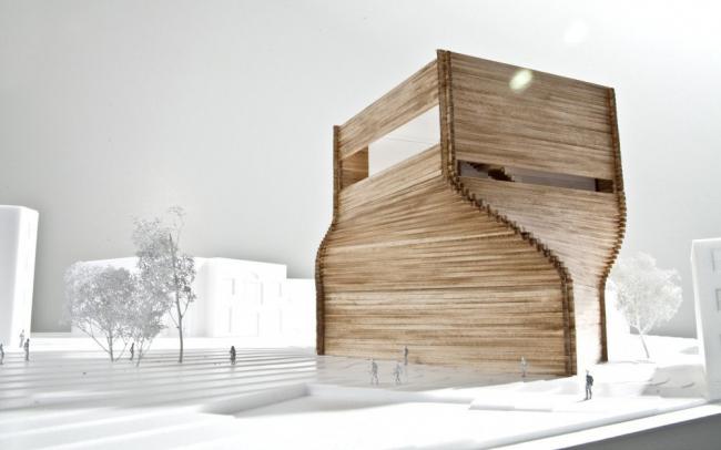 Центр искусств Кимбелл © Bjarke Ingels Group (BIG)