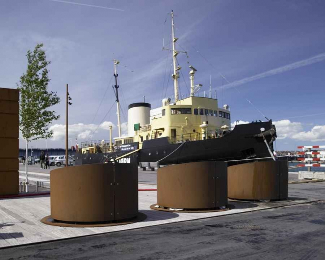 Реконструкция порта Ольборга. Фото: Helene Hoyer Mikkelsen