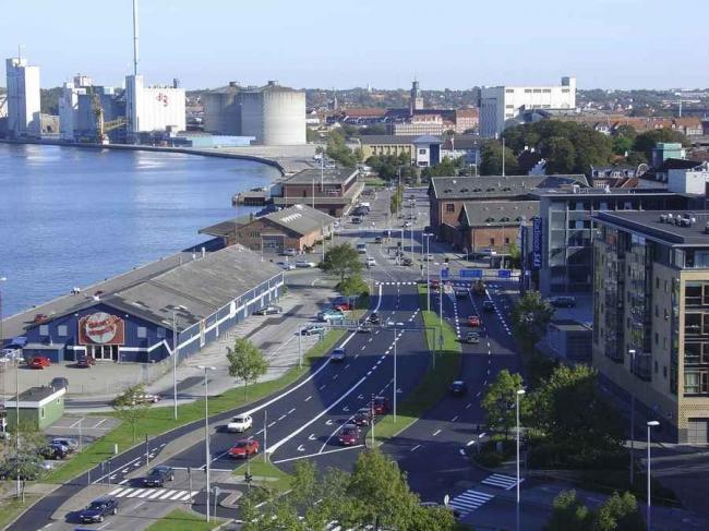 Реконструкция порта Ольборга. Фото: Aalborg Kommune