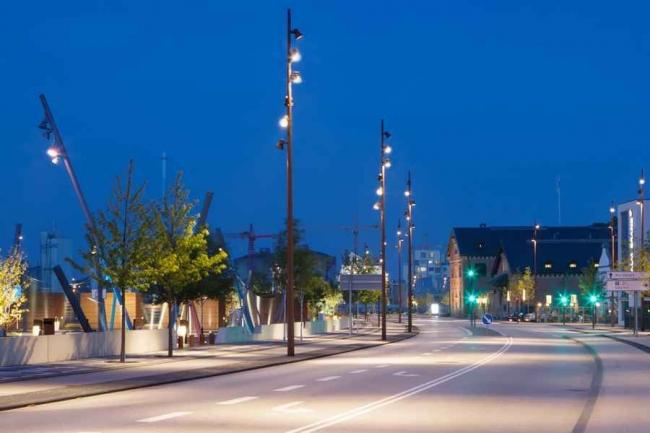 Реконструкция порта Ольборга. Фото: Martin Kristiansen