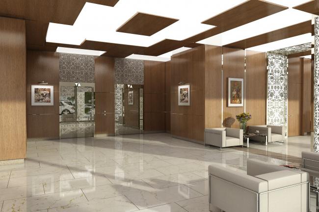 Клубный дом SMOLENSKY © Архитектурная мастерская «Группа АБВ»