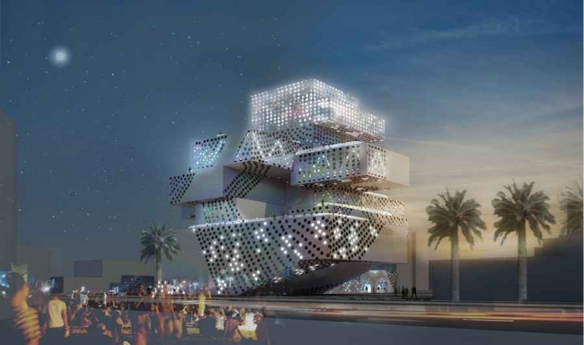 Центр музыки и танца в Ашкелоне © Manuelle Gautrand Architecture