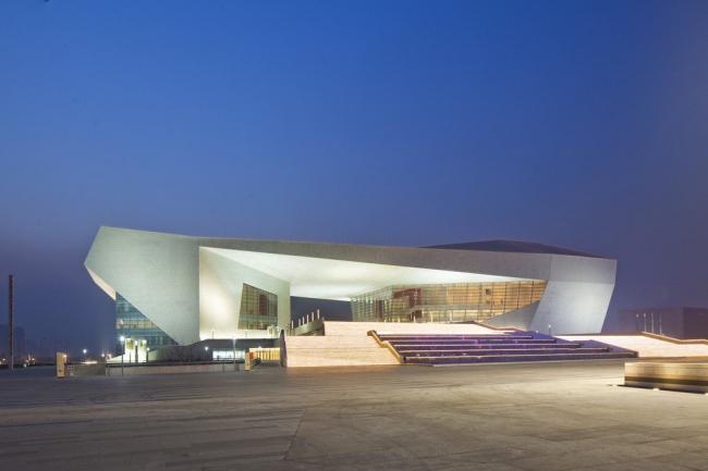 Большой театр провинции Шаньси. Фото © Arte Charpentier Architectes / Avec la collaboration de l'institut architectural du Shanxi