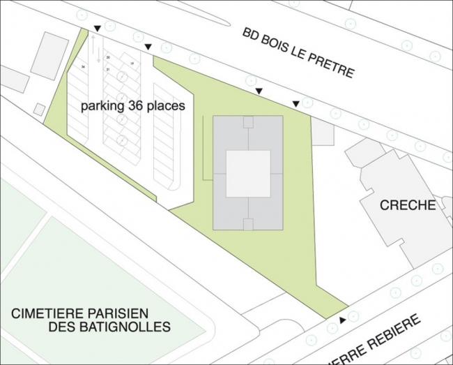 Жилой дом «Тур Буа Ле Претр» – реконструкция © Lacaton Vassal