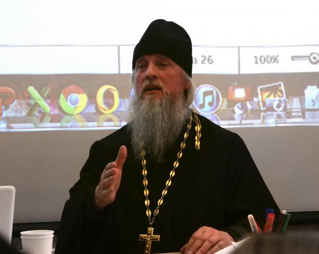 Протоиерей Вячеслав Шестаков. Фотография Ларисы Талис