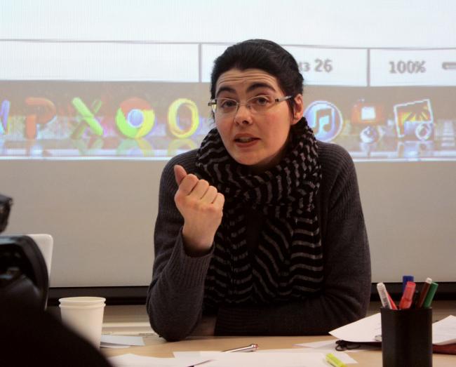 Наталья Самовер. Фотография Ларисы Талис, 2012