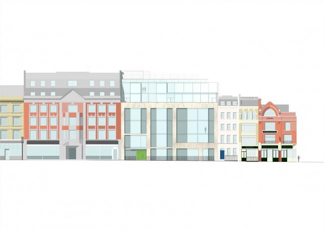 Офисный комплекс на Грейт-Палтни-стрит © Wilkinson Eyre