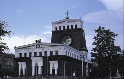 Церковь Святого Сердца в Праге (1928-1930)