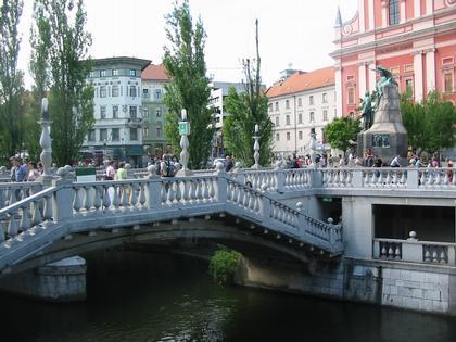 Тройной мост, Любляна (1929-1932)
