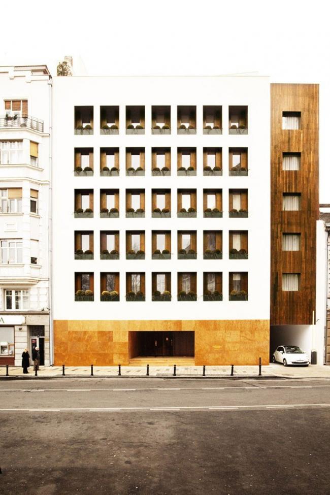 Отель Square Nine. Фото с сайта yatzer.com