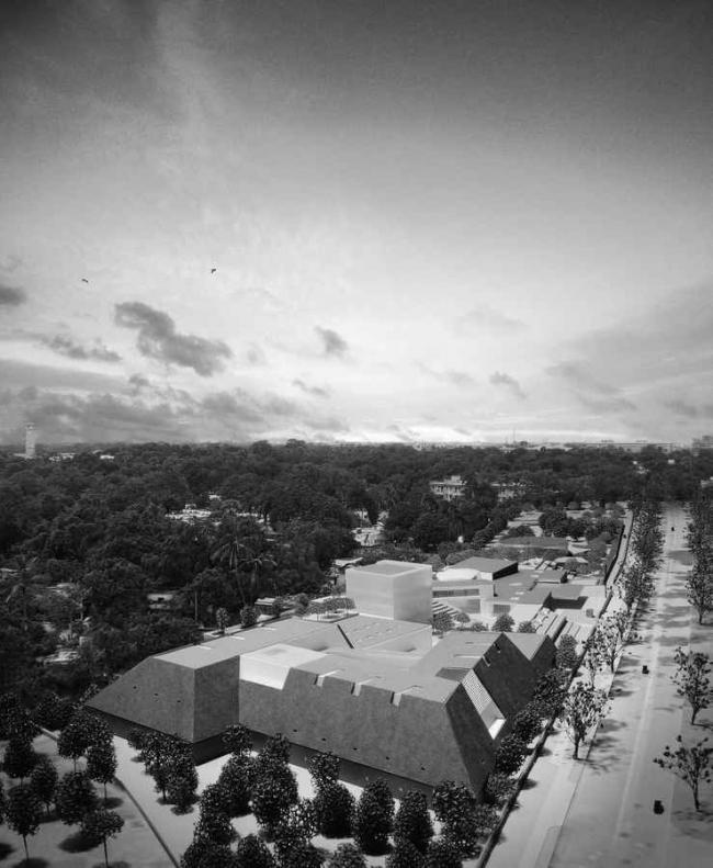 Музей штата Бихар © Maki & Associates