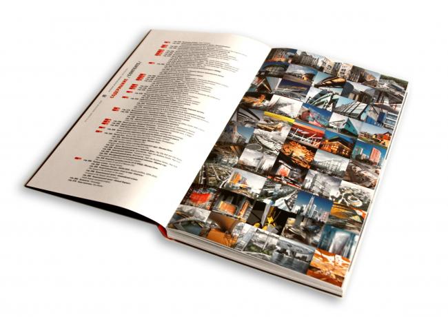 Разворот с оглавлением книги «ТОП-25»