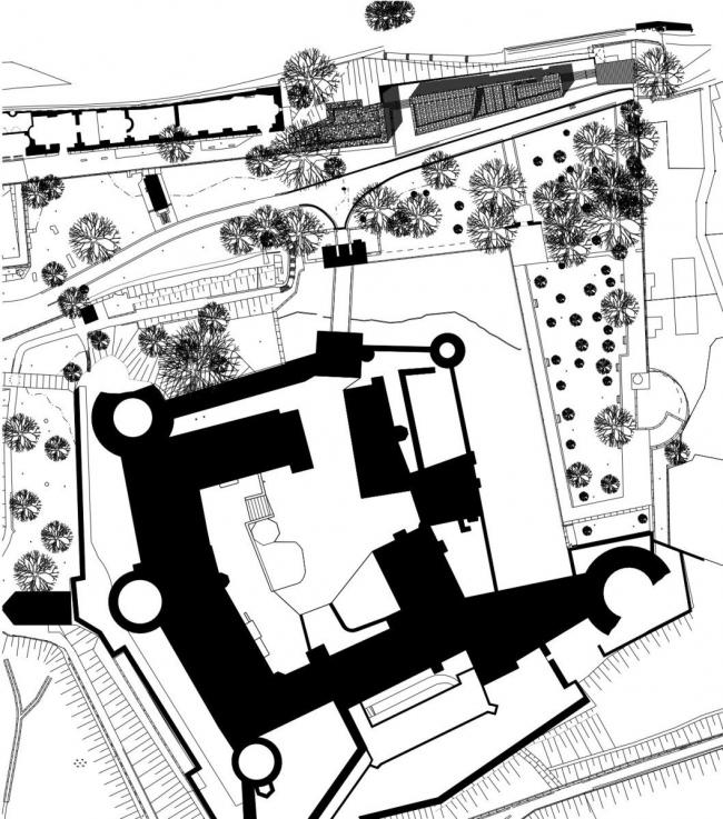 Посетительский центр Гейдельбергского замка © Max Dudler Architekt