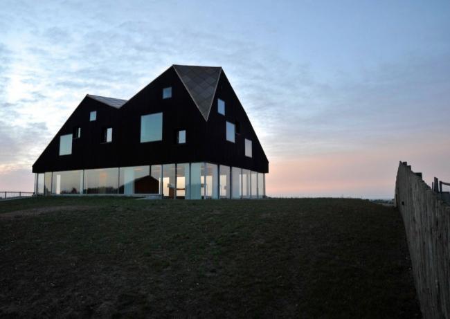 Загородный дом Dune House. © Nils Petter Dale