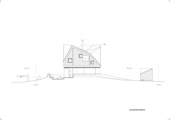 Загородный дом Dune House. © JVA