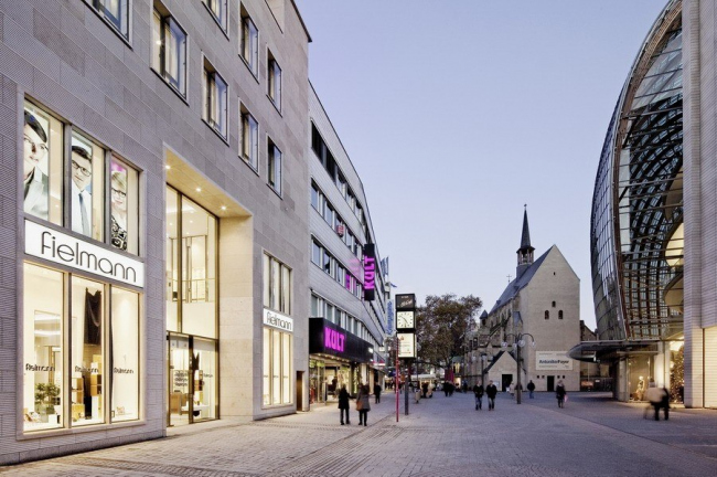 Здание на улице Шилдергассе © Jens Willebrand