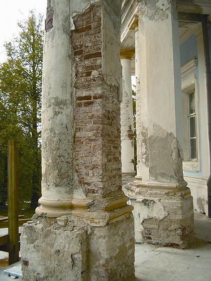 Павильон Катальной горки до реставрации
