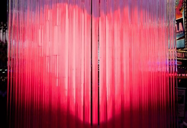 Скультура «BIG love NYC» на Таймс-сквер. Фото Ho Kyung Lee