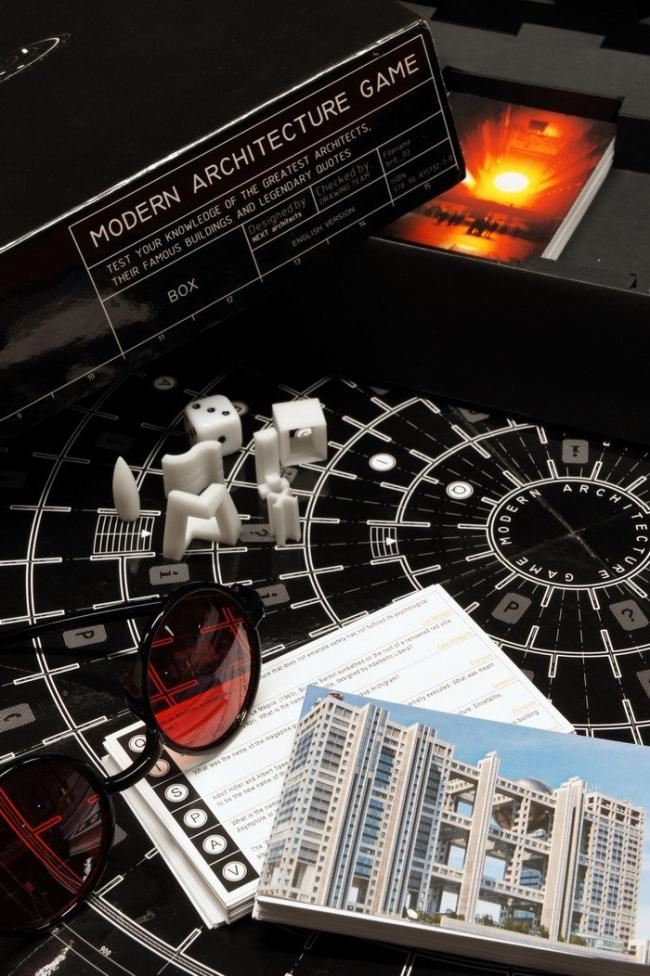 Игра Modern Architecture Game. Фото с сайта archinect.com
