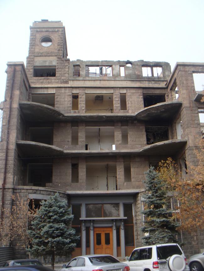 Ереван, гостиница Севан, современное состояние. Фото предоставлено Кареном Бальяном