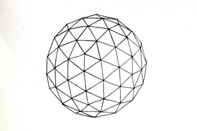 Кристаллическая модель земного шара