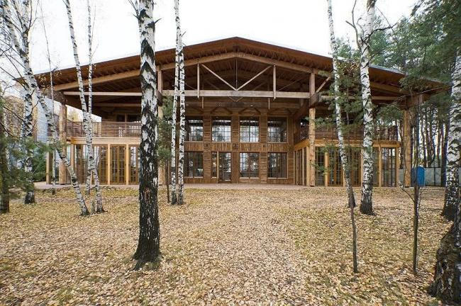 Дом «Ъ». Курорт «ПИРогово». Фото Ильи Иванова
