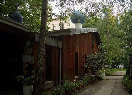 Храм преп. Серафима Саровского на улице Лёкурб, Париж
