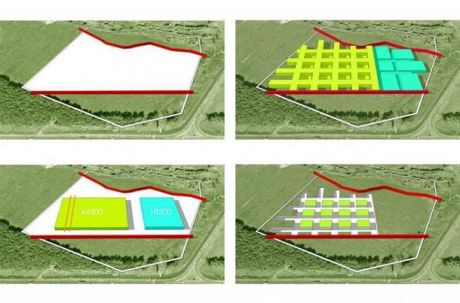 Штаб-квартира X5 Retail Group. Проект, 2011-2012 © ADM