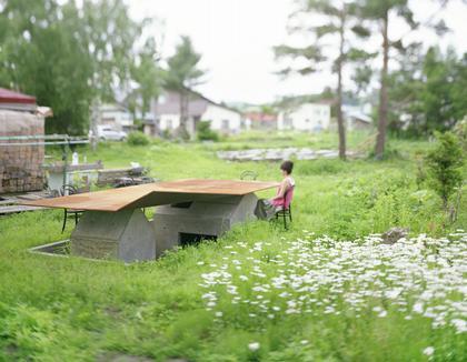 Чайный дом в Сароме, остров Хоккайдо, Япония. Мастерская Jun Igarashi Architects, поощрительная премия.