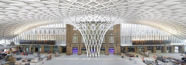 Вокзал Кингс-Кросс - реконструкция © Hufton + Crow
