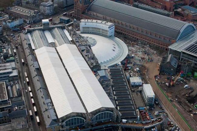 Вокзал Кингс-Кросс - реконструкция © Network Rail