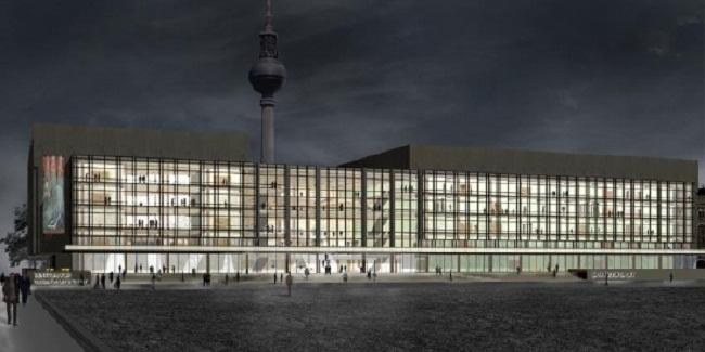 Дворец Республики - проект перестройки © Андерхальтен Архитектен