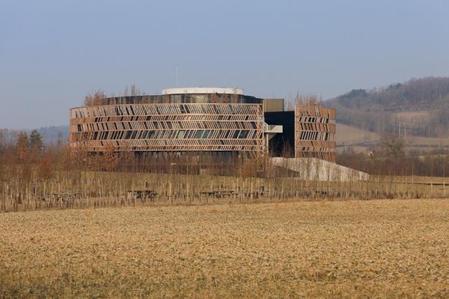 Алезия - музейный и археологический парк. Информационный центр. Фото © Iwan Baan