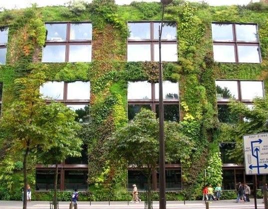 Зеленые кровли и фасады мира
