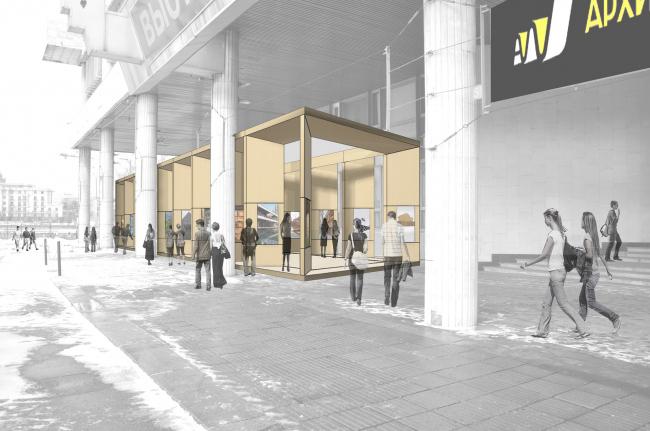 Победители конкурса - Сергей Гикало, Александр Купцов (Gikalo Kuptsov Architects)