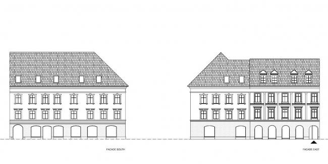 """Жилой комплекс """"Baroque Court Apartments"""". Предоставлено OFIS arhitekti"""