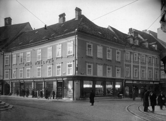 """Жилой комплекс """"Baroque Court Apartments"""". Историческое фото здания. Предоставлено OFIS arhitekti"""