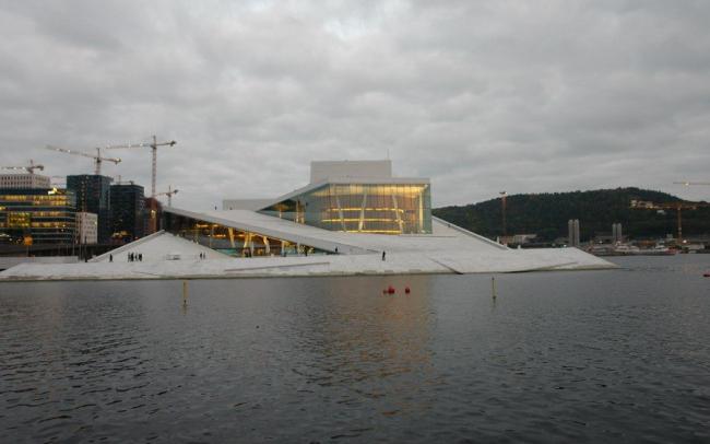 Национальный оперный театр в Осло. Фото Нины Фроловой