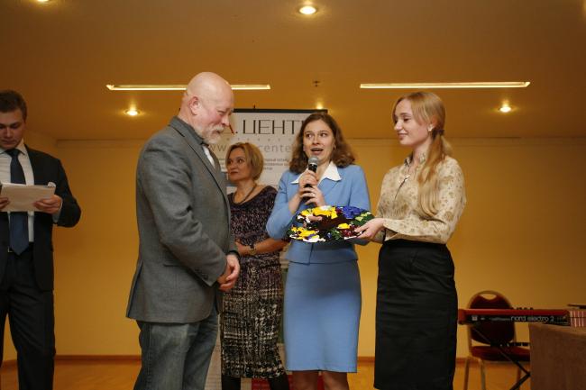 Специальную награду получает Николай Шумаков