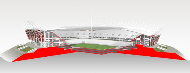 Национальный стадион в Варшаве © gmp